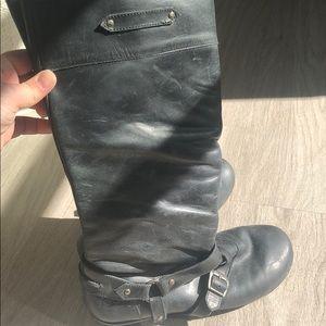 Born Black tall boots